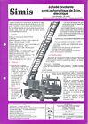 Fire Equipment Brochure - Simis - 24 m Ladder Truck Renault JN90 FRENCH (DB321)