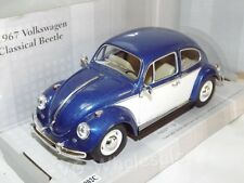 VOLKSWAGEN VW Beetle Year 1967 Blue 1 24 Kinsmart