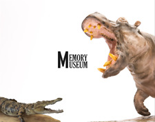 MM×Planet Earth 1/15 Crocodile Statue Animal Toy Model Collector Decor Gift
