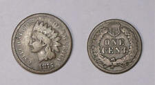 1875 INDIAN HEAD CENT FINE TOUGH EARLY DATE INV#339-10