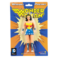 DC COMICS WONDER WOMAN BENDABLE FIGURE - JUSTICE LEAGUE, COLLECTIBLE POSEABLE