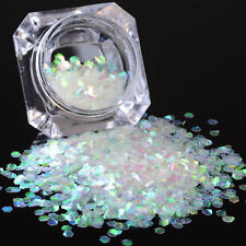 2g Born Pretty Nail Art Sequins Mermaid Hexagon Glitter Fish Scale Manicure DIY