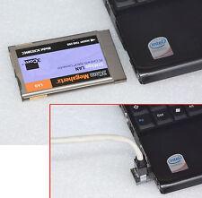 NETWORK LAN CARD PCMCIA 3COM 3CXE589EC NETZWERKKARTE DSL NOTEBOOK 486 PENTIUM 40