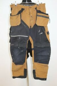 Snickers Men's 6202 RuffWork CORDURA Holster Pockets Craftsmen Workwear Pants 56