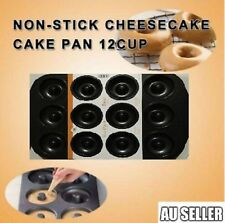 12 Cups Cute Mini Donut Maker Donut Pan Doughnut Cake Mould Dough Tray 2017