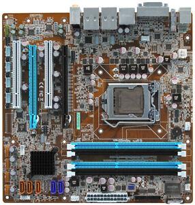 Intel Ivy Bridge HDMI DVI D-SUB eSATA 5x SATA Dual Gb LAN Micro ATX Motherboard