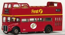 * 33105 EFE Open Top Routemaster Bus First London Route 9 1:76 Diecast New