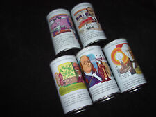 Graf's Soda Can Collection~American Inventors~5 Soda Cans~Graf/s Beverages~SS