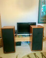 More details for vintage imf transmission line tls50 hi fi speakers