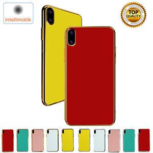 For iPhone XS MAX XR X Slim Thin TPU Bumper Case Cover Apple