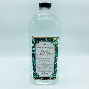 NEW~ TOMMY BAHAMA Large 1/2 GALLON Refill Hand Soap EUCALYPTUS + MINT 64oz
