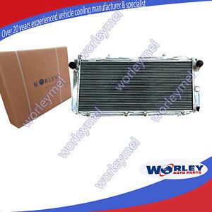 Aluminum Radiator For Toyota MR2 SW20 3SGTE MT 1990-1997 91 92 93 94 95 96 2 Row