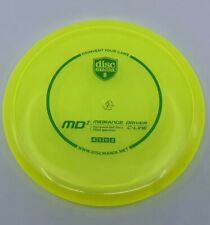 Discmania C-Line Md2 Midrange Driver Golf Disc -Neon Yellow w/ Green Stamp- 180g