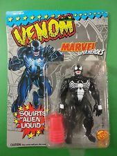 1993 Marvel Superheroes Water Squirting Venom Action Figure Mint in Pack