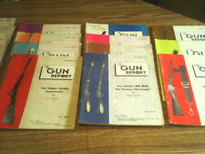 18 issues of THE GUN REPORT 1969 ,1971, 1972, 1973, 1974  !!!