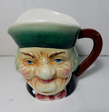 """VINTAGE, JAPAN HANDPAINTED TOBY MUG, ABOUT 4"""" TALL GREAT CONDITION!!!!"""