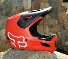 Fox Youth Rampage Casco Vollvisierhelm Fullface Downhill Enduro Rojo Niños MTB
