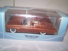 1958 Lincoln Continental Copper 1/43  American Excellence NEO FREE SHIPPING