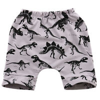 2-7 Y Summer Kids Boys Dinosaur print Cotton Beach Outdoor Pants Trousers Shorts