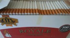550x Royale Tobacco Cigarette Filter Tubes King Size filter 15 mm