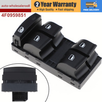 Brand  NEW Power Master Window Switch 4F0959851F Fits For AUDI A6 A3 Q7 C6