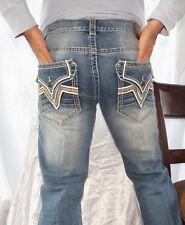 New Men Blake AFFLICTION  Whiskered Jeans Color Chicago Size 34