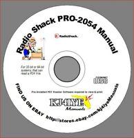 Radio Shack Scanner FTDI Programming PRO-93 PRO-2053 WIN93 20-546 93