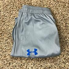 Under Armour Stretch Waist Gray Activewear Workout Shorts Boy's Size Large