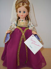 "RARE Madame Alexander 14"" Queen #1536 Classics Series Made in 1990 Only - Mint"