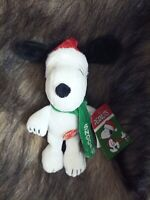 """Peanuts SNOOPY CHRISTMAS MUSICAL 9"""" Plush Stuffed NEW Plays Linus and Lucy"""