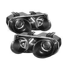 Acura 98-01 Integra Negro Halo Proyector Faros 98 99 00 01 Compatible All Model