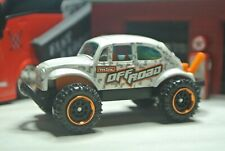 Matchbox Loose Volkswagen Beetle Bug 4x4 - White MBX Off-Road