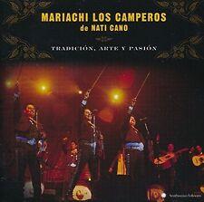 Mariachi Los Camperos De Nati Cano - Tradicion, Arte y Pasion Audio CD 2015