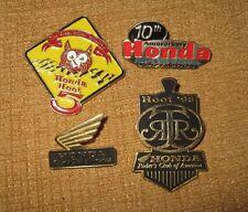 4*HOOT HONDA MOTORCYCLES RIDER'S CLUB OF AMERICA LAPEL PIN SMOKY MOUNTAIN