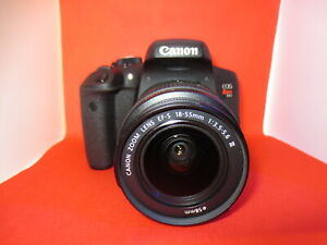 Canon EOS T6i  750D  Digital Camera body + Mint canon 18-55 Mark III Lens +32GB