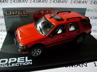 OPE86 voiture 1/43 IXO eagle moss OPEL collection : FRONTERA rouge