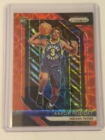 2018-19 Panini Prizm RC Prizms Choice Red 114 Aaron Holiday /88 Rookie Pacers