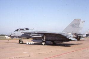 Original 35mm Slide Military Aircraft/Plane USN F-14A 160673 Jun 1992 #P4462