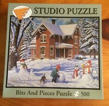 Bits And Pieces 500 Piece Puzzle Called Making New Friends