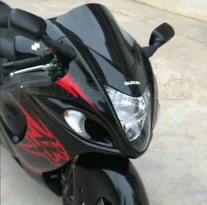 Suzuki Hayabusa GSX1300R Windscreen Windshield Dark Tinted 2008 -2020