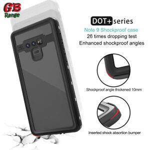 Samsumg Note 9 Waterproof Case Dot Series Shockproof Full Body Military Grade