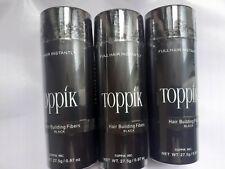 Toppik 27,5gr Poudre de Cheveux densifiant Calvitie Fiber - Black
