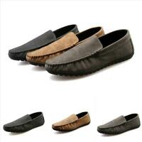 Vogue Mens Slip On Flats Loafer Moccasin Gommino Driving Pumps Casual Boat ShoeS