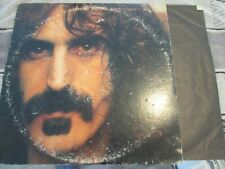 Frank Zappa- Discreet Apostropheorig lp (DS 2175)-play tested vg+   please read