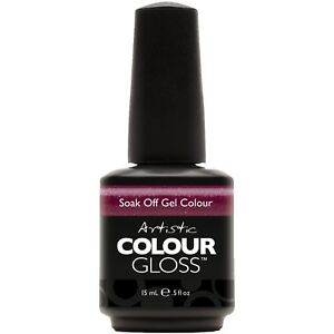 Artistic Colour Gloss Soak Off Gel Nail. Full-Size. Buy 1 Get 1 at 50% Off.
