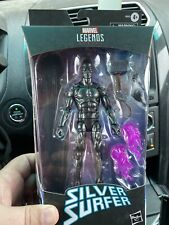 Fantastic Four Marvel Legends SILVER SURFER Walgreens Exclusive Hasbro in hand