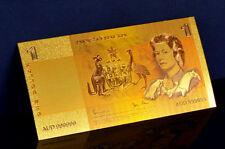 "★★ AUSTRALIE / AUSTRALIA : BILLET POLYMER  "" OR "" DU 1 DOLLAR (type 1980)  ★"
