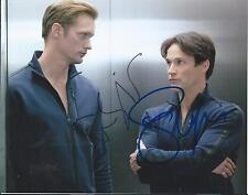 Stephen Moyer & Alexander Skarsgård Trueblood Actor Hand Signed 8x10 Photo COA