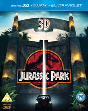 Jurassic Park 3D Blu Ray NO 2D Blu-ray or Digital but SLIPCOVER IS INCLUDED