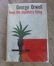 KEEP THE ASPIDISTRA FLYING by George Orwell -HCDJ 1967 1st/4th- animal farm 1984